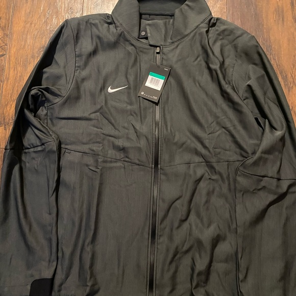 Nike Other - Nike Mens Dri-Fit Light Weight Travel Jacket Grey
